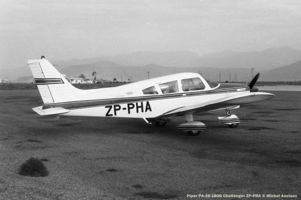 024 Piper PA-28-180G Challenger ZP-PHA © Michel Anciaux
