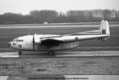 025 Fairchild C-119G OT-CAP Belgian Air Force © Michel Anciaux