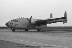 026 Fairchild C-119G OT-CBG Belgian Air Force © Michel Anciaux