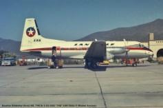 026 Hawker Siddeley (Avro) HS. 748 Sr 2 CC-CEG ''745'' LAN Chile © Michel Anciaux