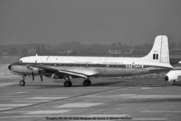 027 Douglas DC-6A OT-CDA Belgian Air Force