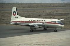 029 Hawker Siddeley (Avro) HS. 748 Sr 2 CC-CEI ''747'' LAN Chile © Michel Anciaux