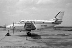 033 Beech 65-B80 Queen Air OO-VDE Delta Air Transport © Michel Anciaux