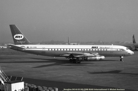 035 Douglas DC-8-32 OO-CMB BIAS International © Michel Anciaux