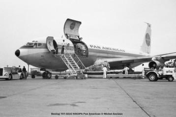 038 Boeing 707-321C N463PA Pan American © Michel Anciaux