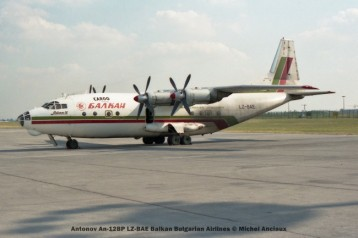 04 Antonov An-12BP LZ-BAE Balkan Bulgarian Airlines © Michel Anciaux