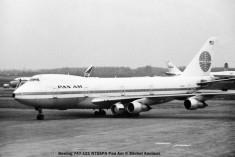 040 Boeing 747-121 N755PA Pan Am © Michel Anciaux