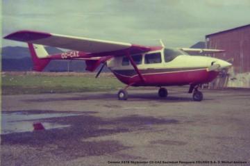 040 Cessna 337B Skymaster CC-CAZ Sociedad Pesquera COLOSO S.A. © Michel Anciaux