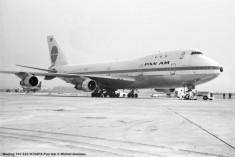 042 Boeing 747-121 N754PA Pan Am © Michel Anciaux