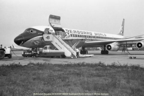 043 McDonnell Douglas DC-8-63CF N8632 Seaboard World Airlines © Michel Anciaux