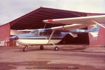 045 Cessna 337A Skymaster CC-CAW Agrotecna © Michel Anciaux