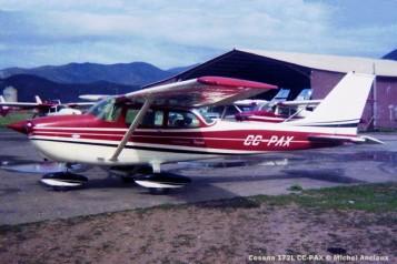047 Cessna 172L CC-PAX to CC-KLC © Michel Anciaux