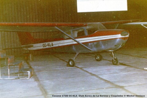 048 Cessna 172B CC-KLA Club Aereo de La Serena y Coquimbo © Michel Anciaux