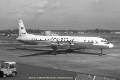 048 Ilyushin Il-18D YR-IME Tarom © Michel Anciaux