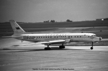 052 Tupolev Tu-104 CCCP-42412 Aeroflot © Michel Anciaux