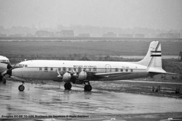 057 Douglas DC-6B 7O-ABK Brothers Air Services © Alainl Anciaux