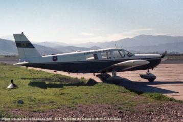 059 Piper PA-32-260 Cherokee Six ''101'' Ejercito de Chile © Michel Anciaux
