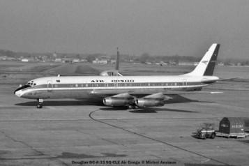 062 Douglas DC-8-33 9Q-CLE Air Congo © Michel Anciaux