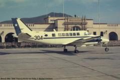 064 Beech 99A ''304'' Fuerza Aerea de Chile © Michel Anciaux
