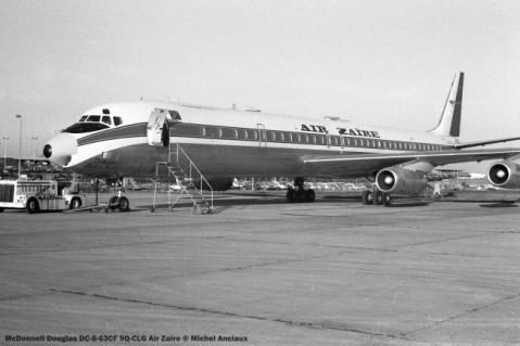 066 McDonnel Douglas DC-8-63CF 9Q-CLG Air Zaire © Michel Anciaux