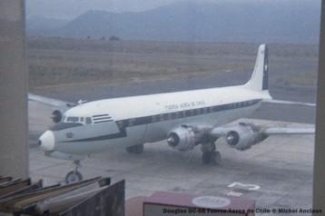 067 Douglas DC-6B Fuerza Aerea de Chile © Michel Anciaux