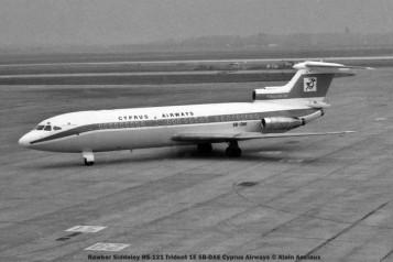067 Hawker Siddeley HS-121 Trident 1E 5B-DAE Cyprus Airways © Alain Anciaux