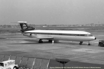 068 Hawker Siddeley HS-121 Trident 3B G-AWZI British Airways © Michel Anciaux