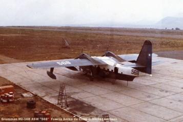 069 Grumman HU-16B ASW ''568'' Fuerza Aerea de Chile © Michel Anciaux