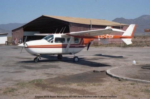 071 Cessna 337G Super Skymaster CC-CGF Aero Pacifico Ltda © Michel Anciaux