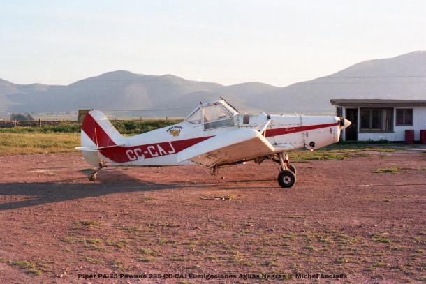 074 Piper PA-25 Pawnee 235 CC-CAJ Fumigaciones Aguas Negras © Michel Anciaux