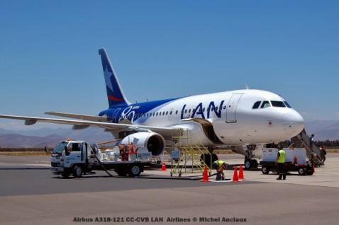 075 Airbus A318-121 CC-CVB LAN Airlines © Michel Anciaux