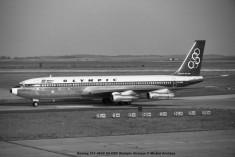 075 Boeing 707-384C SX-DBC Olympic Airways © Michel Anciaux