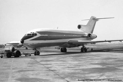 077 Boeing 727-1H2 N320HG ITT © Michel Anciaux