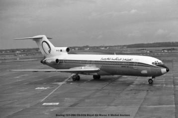078 Boeing 727-2B6 CN-CCG Royal Air Maroc © Michel Anciaux