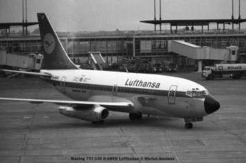 080 Boeing 737-130 D-ABED Lufthansa © Michel Anciaux
