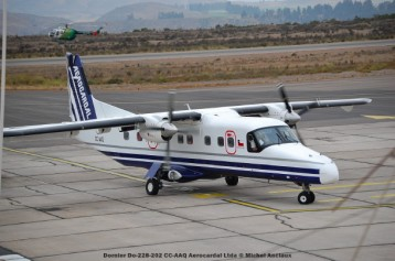 082 Dornier Do-228-202 CC-AAQ Aerocardal Ltda © Michel Anciaux
