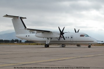 083 De Havilland Canada DHC-8-202 C-GBGC Ontario-Barrick Gold Corp © Michel Anciaux