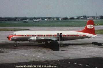 085 Douglas DC-6B OO-PAY BIAS © Michel Anciaux