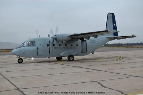 087 CASA 212-200 ''960'' Fuerza Aerea de Chile © Michel Anciaux