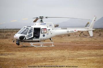 096 Eurocopter AS-350 B3 Ecureuil CC-CIX INAER © Michel Anciaux