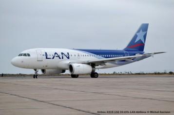 097 Airbus A319-132 CC-CYL LAN Airlines © Michel Anciaux