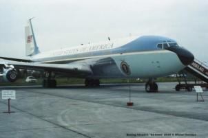 097 Boeing VC-137C ''62-6000'' USAF © Michel Anciaux
