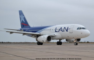 098 Airbus A319-132 CC-CYL LAN Airlines © Michel Anciaux