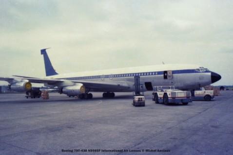 102 Boeing 707-430 N9985F International Air Leases © Michel Anciaux