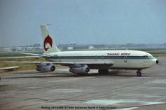 104 Boeing 707-138B VP-BDE Bahamas World © Alain Anciaux