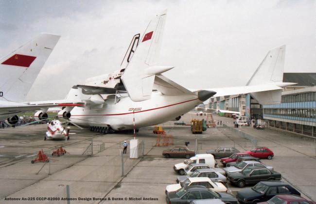 105 Antonov An-225 CCCP-82060 Antonov Design Bureau & Buran © Michel Anciaux