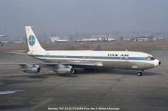 106 Boeing 707-321C N794PA Pan Am © Michel Anciaux