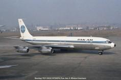 106 Boeing 707-321C N794PA Pan Am © Michel Anciaux