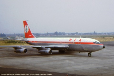 107 Boeing 720-023B OD-AFP Middle East Airlines-MEA