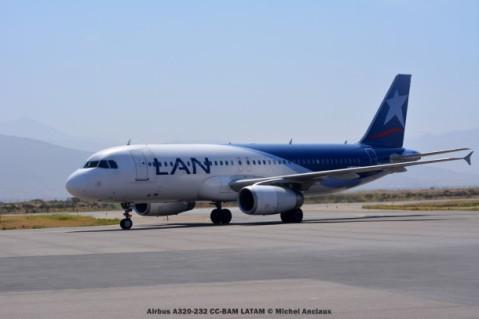 109 Airbus A320-232 CC-BAM LATAM © Michel Anciaux